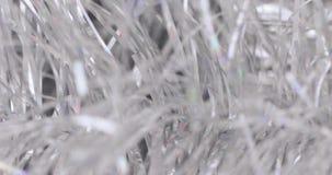 Malla de la Navidad de Bokeh almacen de metraje de vídeo