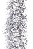 Malla de plata de la Navidad. fotografía de archivo