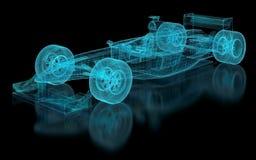 Malla del Fórmula 1 stock de ilustración