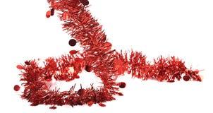 Malla del rojo de la Navidad. Imágenes de archivo libres de regalías