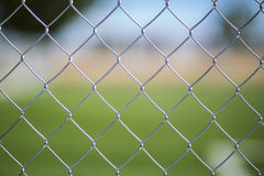 Malla metalica. Seamless Chain Fence, grille backgroinds landscape Royalty Free Stock Images