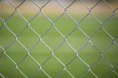 Malla metalica. Seamless Chain Fence, grille background landscape Stock Image
