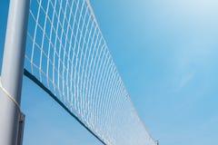 Malla para el voleibol de playa Foto de archivo libre de regalías