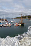 Mallaig. Fishing boat at Mallaig harbour.Scotland,2013 summer Royalty Free Stock Photography