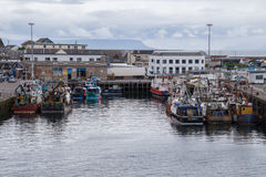 Mallaig harbour, Scotland. Fishing port of Malaig harbour, Scotland Stock Photos