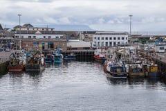 Mallaig harbour, Scotland. Fishing port of Malaig harbour, Scotland Stock Photos