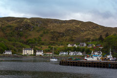 Mallaig. View of Mallaig harbour on the west coast of Scotland Royalty Free Stock Images