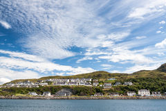 Mallaig. View of Mallaig, a little port in Lochaber, on the west coast of the Highlands of Scotland Stock Photography