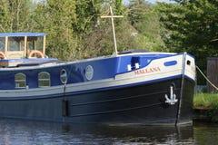 Mallana in de Scherptekanaal dat van Gloucester wordt vastgelegd stock foto