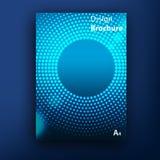 Mallar för design för räkning för vektorbroschyrhäfte arkivfoton