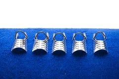 mallar för fingernailhandlager Fotografering för Bildbyråer