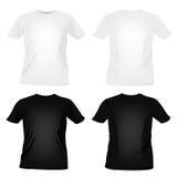 mallar för skjorta t Royaltyfria Bilder