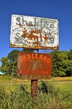 Mallard Seed Company sign. ROLLAG, MINNESOTA, August 4, 2016: Mallard Seed Company is a private owned company in Plainview, Minnesota and was established in 1957 Stock Images