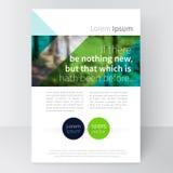Mallbroschyr, broschyr, reklambladmateriel-vektor Royaltyfri Bild