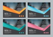 Malldesign för socialt massmedia och rengöringsdukbanerbakgrund stock illustrationer