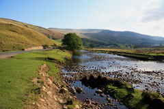Mallerstang Common. Mallerstang  is a civil parish in the extreme east of Cumbria - and, geographically, a dale at the head of the upper Eden Valley Stock Photos