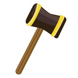 Mallet isolated illustration Royalty Free Stock Photography