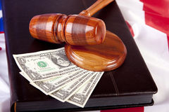 Mallet of justice Royalty Free Stock Images