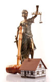 Mallet of justice Stock Image