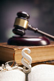 Mallet of justice!. Law concept Stock Photo