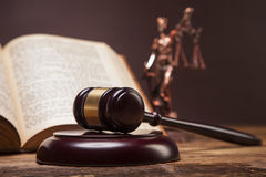 Mallet of justice! Stock Photography
