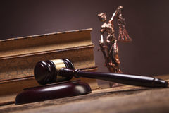 Mallet of justice! Royalty Free Stock Photos