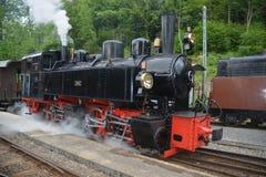 Mallet Steam Railway Locomotive G 2x 2/2 105 SEG Stock Photos