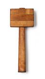 Mallet wood Royalty Free Stock Image