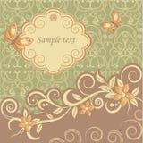 Mallhälsningkort Royaltyfria Bilder