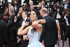 Mallika Sherawat. Attends 'The BFG' premier during the 69th Annual Cannes Film Festival on May 14, 2016 in Cannes Stock Image