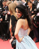 Mallika Sherawat attends `The BFG`. Premier during the 69th Annual Cannes Film Festival on May 14, 2016 in Cannes stock photos