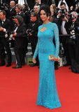 Mallika Sherawat. CANNES, FRANCE - MAY 14, 2014: Mallika Sherawat at the gala premiere of Grace of Monaco at the 67th Festival de Cannes stock photography