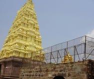 Mallikarjuna tempel Royaltyfri Foto