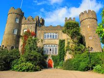 Mallohide城堡,爱尔兰 库存照片