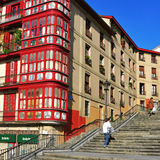 Mallona Stairs in Bilbao, Spain Royalty Free Stock Photo