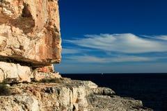 Mallorca - área de escalada Tijuana fotos de stock