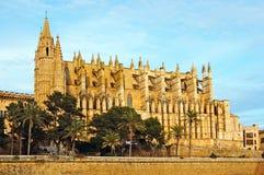 Mallorca. Cathedral of Palma de Mallorca, in Spain Royalty Free Stock Photo