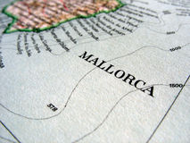 Mallorca 2. The way we looked at Mallorca in 1949 Royalty Free Stock Image