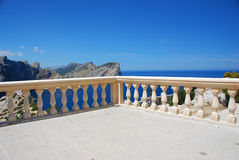 Mallorca. Beautiful ocean view on the island mallorca stock image