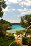 Mallorca. Beautiful beach on the island mallorca spain stock images