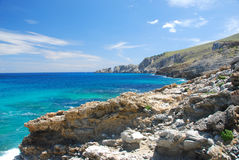 Mallorca. Beautiful beach on the island mallorca spain royalty free stock photography
