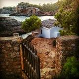 Mallorca além da porta imagem de stock