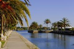 Mallorca, Alcudia Stockbild