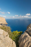 Mallorca Balearic Islands. The coast of Mallorca, Balearic Islands Royalty Free Stock Photo