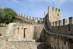 Mallorca, Balearic Islands, Spain. The Castell de Capdepera, Mallorca, Balearic Islands, Spain, Europe Royalty Free Stock Photos
