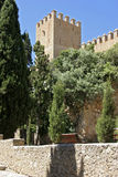 Mallorca, Balearic Islands, Spain. The castle in Arta, Mallorca, Balearic Islands, Spain, Europe Stock Images