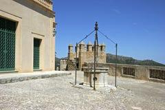 Mallorca, Balearic Islands, Spain. The castle in Arta, Mallorca, Balearic Islands, Spain, Europe Stock Photo