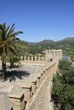 Mallorca, Balearic Islands, Spain. The castle in Arta, Mallorca, Balearic Islands, Spain, Europe Royalty Free Stock Photos