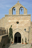 Mallorca, Balearic Islands, Spain. Chapel at the Castell de Capdepera, Mallorca, Balearic Islands, Spain, Europe Stock Images