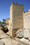 Mallorca, Balearic Islands, Spain. City wall of Alcudia, Mallorca, Balearic Islands, Spain, Europe Stock Image